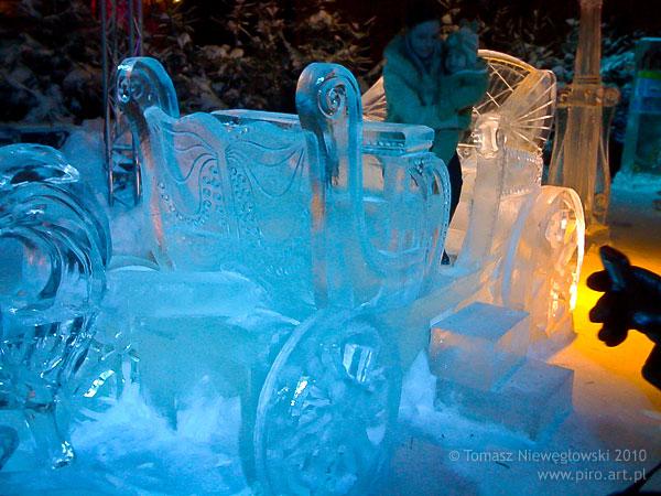 Rzeźby lodowe Olsztyn 2010