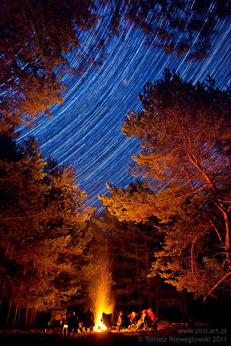 Ognisko pod gwiazdami