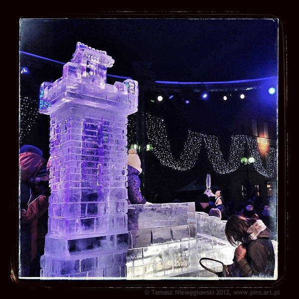 Rzeźby lodowe - Olsztyn 2012