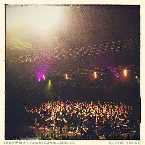 Olsztyńskie Warsztaty Gospel 2013 - koncert TGD