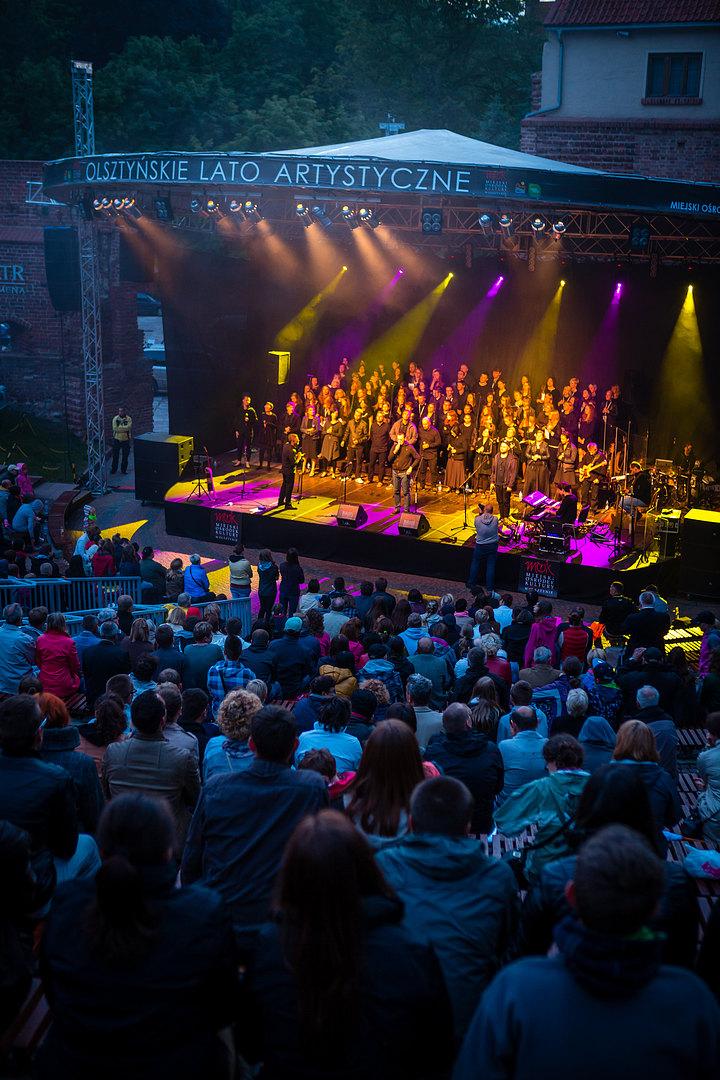 Warsztaty Gospel Olsztyn 2014, koncert TGD